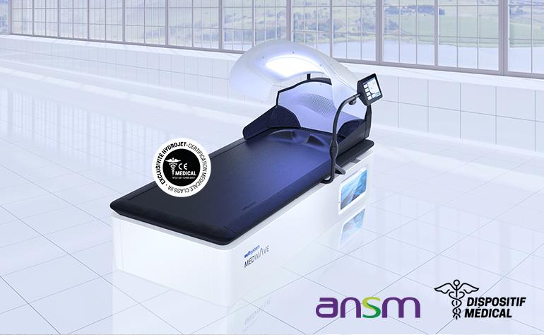 Table de massages Wellsystem Medical Touch