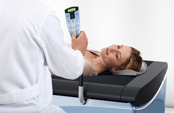 Table de massage wellsystem soin thérapeutique