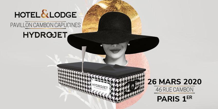 HYDROJET expose sa table de massage au salon Hôtel & Lodge