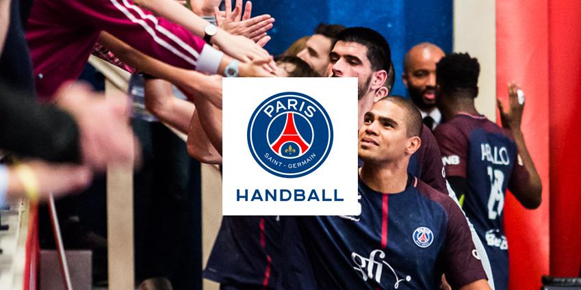 Les joueurs du Paris Saint Germain Handball utilisent HYDROJET