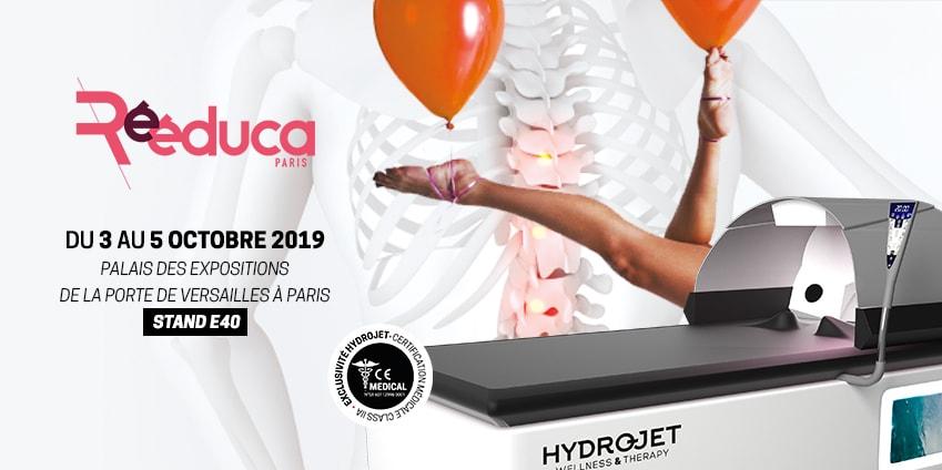 HYDROJET vous attend au salon Rééduca 2019