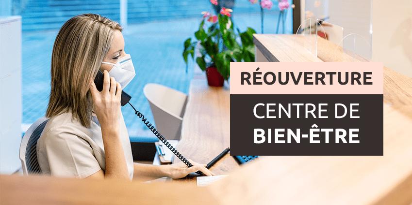 Covid 19 centre de bien-être rassurez vos clients avec HYDROJET