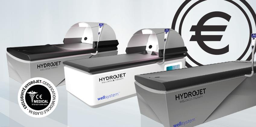 Combien coûte une table de soins hydro active ?