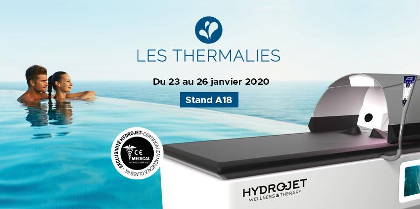 HYDROJET sera présent au salon des Thermalies 2020 à Paris