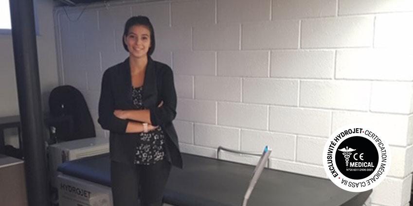 Elisa Houfani kinésithérapeute à Marly en Moselle