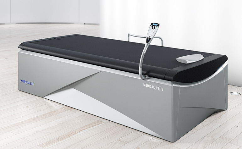 Les bienfaits de la table de massage wellsystem medical plus