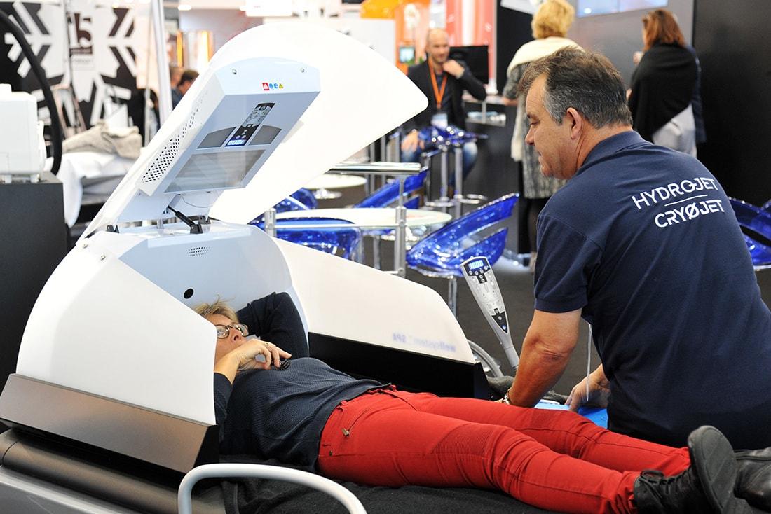 Traitement des douleurs et relaxation massage avec WELLSYSTEM