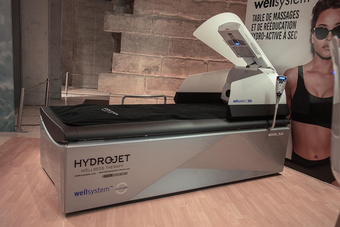 Les bienfaits d'un massage avec Hydrojet et la technologie WELLSYSTEM