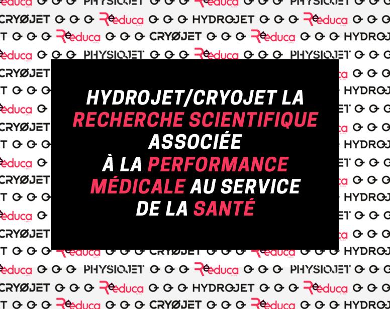 Rééduca 2021 : rendez-vous sur le stand HYDROJET