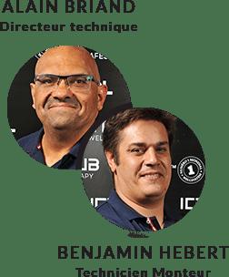 Techniciens Secteur Nord - Alain Briand & Benjamin Hebert
